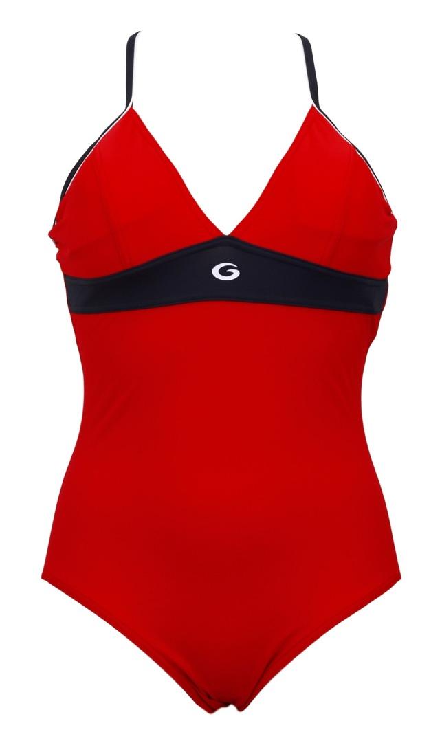 Dámské jednodílné plavky Rosanna - Gwinner - 40 - červená