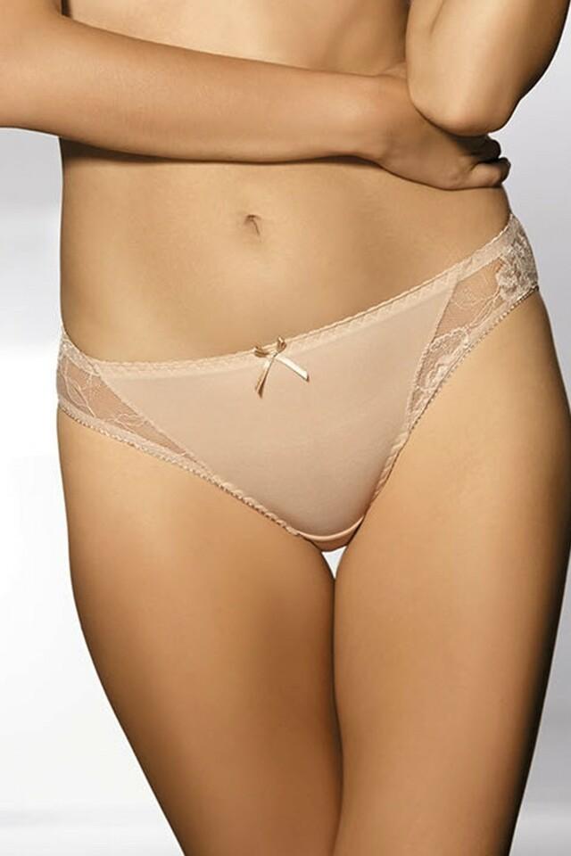Dámské kalhotky 1260 beige - XL - béžová