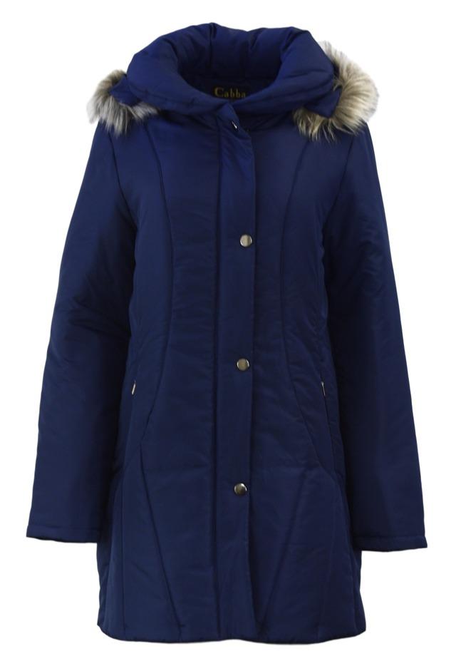 Dámská zimní bunda 63553 - Cabba - 44 - modrá