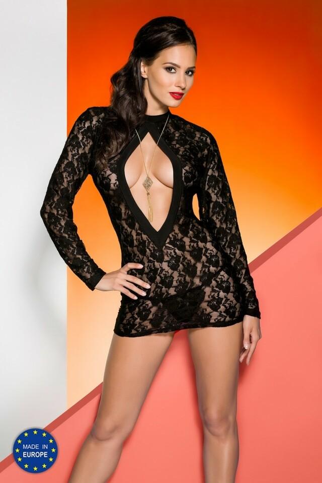 Erotická košilka Rayen chemise black
