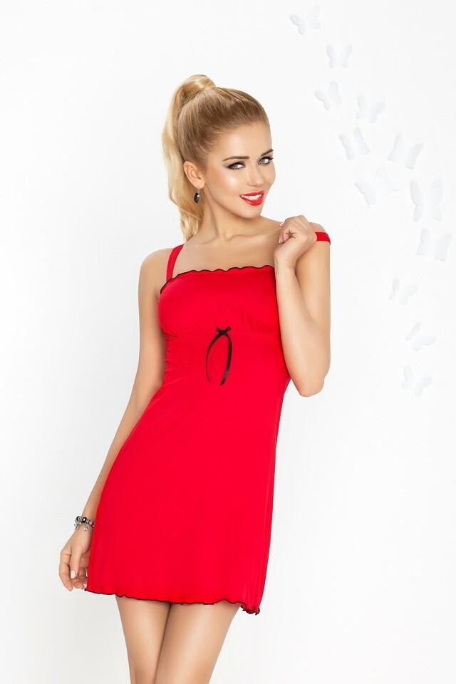 Dámská košilka Gaja red - M - červená