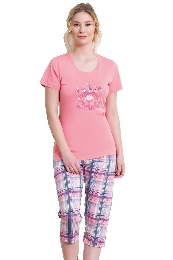 Dámské pyžamo Jovana růžové - M