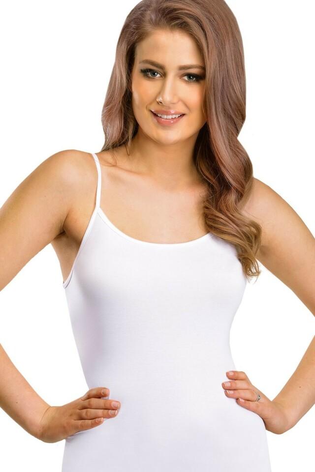 Dámská košilka Tisa white - XL - bílá
