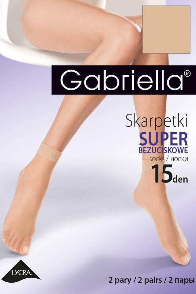 Ponožky Gabriella Bezuciskowe Lycra Code 600