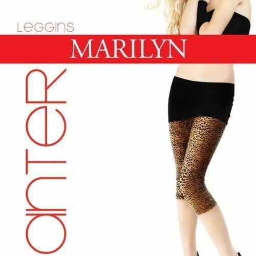 Dámské legíny Panter short- Marilyn - M/L - beige