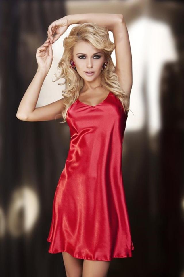 Dámská košilka Karen red - M - červená