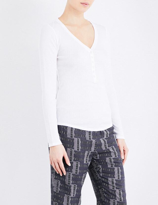 Dámské tričko QS5657E - Calvin Klein - S - bílá