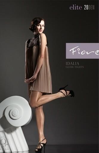 Dámské punčochové kalhoty Fiore Idalia 20 den - 4-L - černá