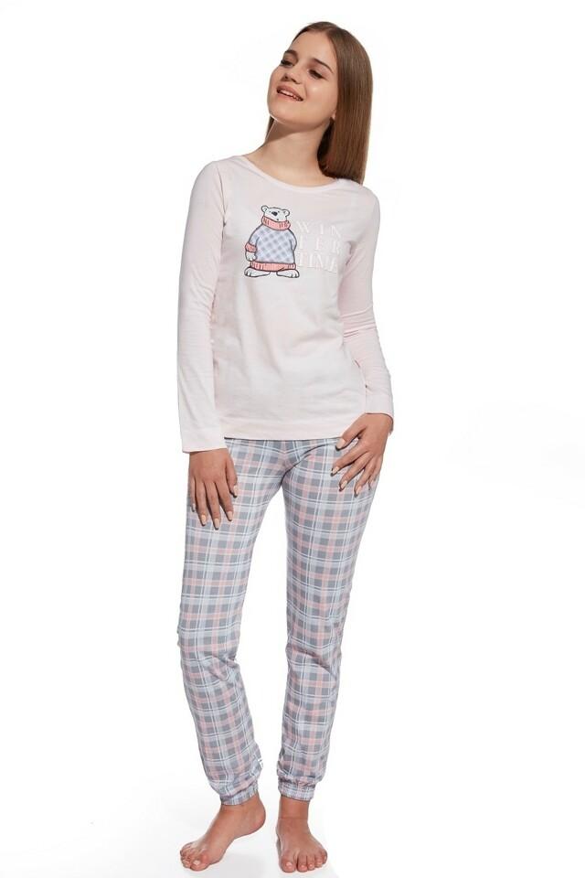 Dívčí pyžamo 291/26 Winter Time pink