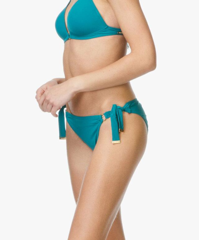 Dámské plavky spodní díl K9WC021022 - Calvin Klein - XL - korálová