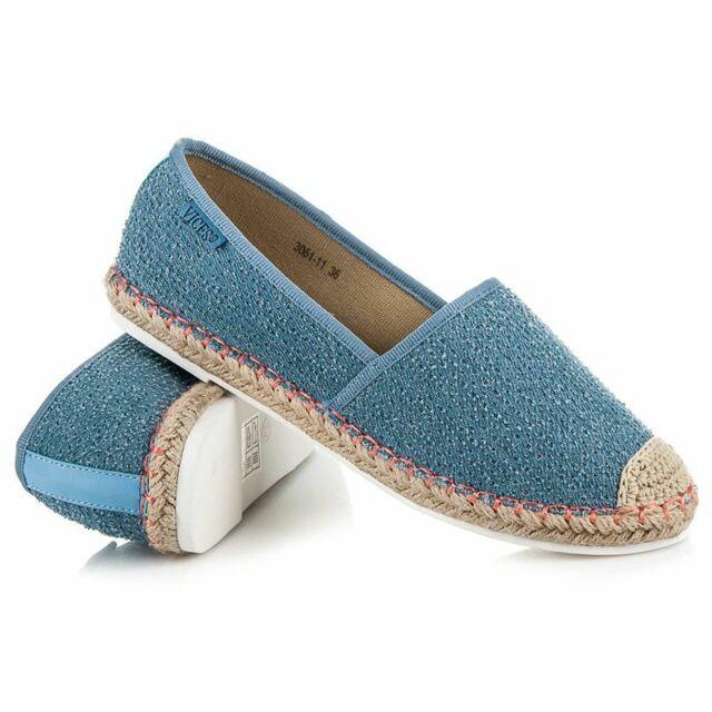 Dámské boty ESPADRILKY 3051-11BL - Vices - 38 - jeans