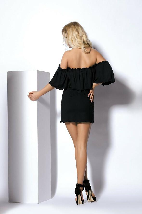 Noční košilka DKaren Holly - L - černá