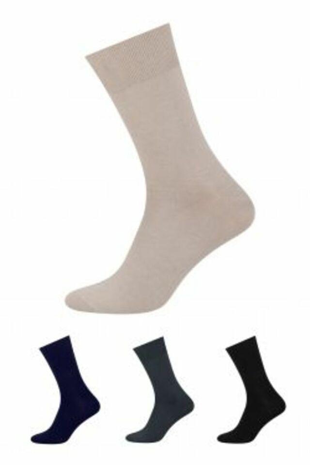 Bambusové ponožky, které netlačí 149 - béžová - 41-43