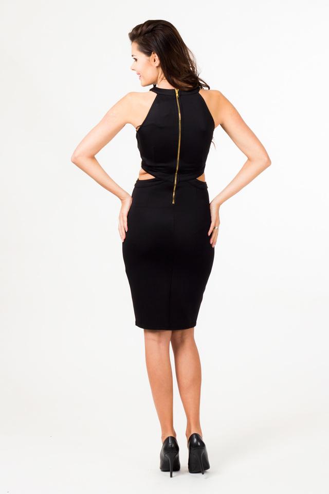 Večerní šaty model 580711 36403 Depare - L - černá