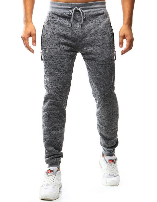 Pánské teplákové kalhoty HL-8490 (ux0977) - Red Fireball