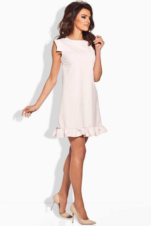 Dámské šaty L139 - Lemoniade - S - pudrová růže