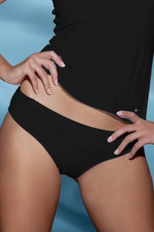 Kalhotky Esotiq 18796 - M - černá