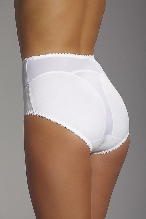 Stahovací kalhotky Mitex Ila - XL - bílá