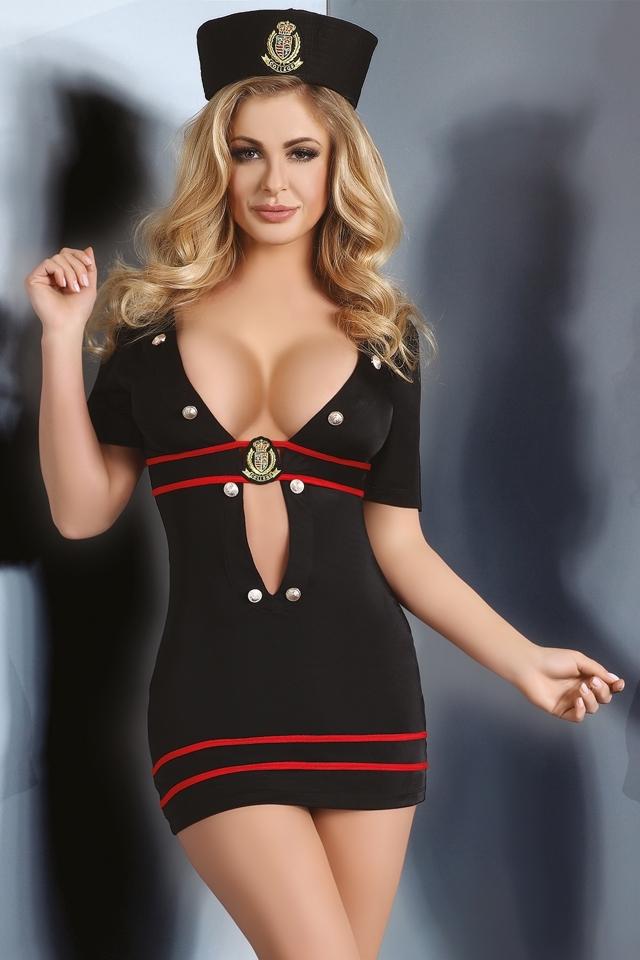 Dámský kostým Relene - S M - černá 416d2737e69