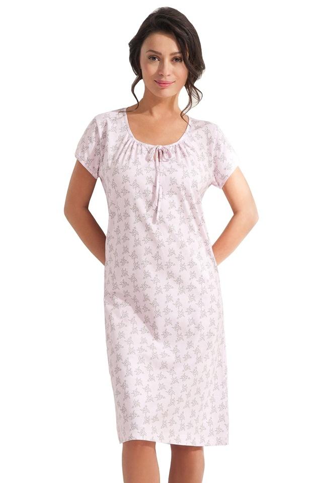Dámská noční košile Salome růžová - XXL