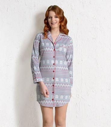 Dámská noční košile Nora 3323 - Vienetta