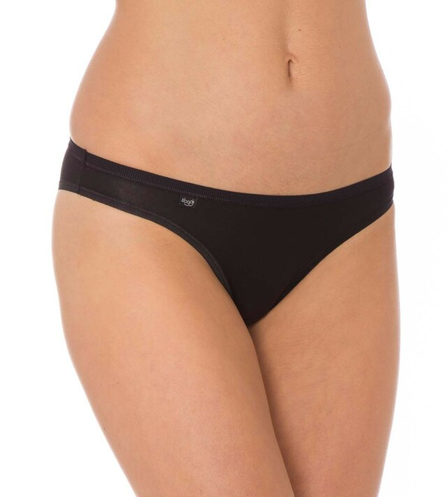 Kalhotky sloggi EverNew Mini - 036 - černá (0004)