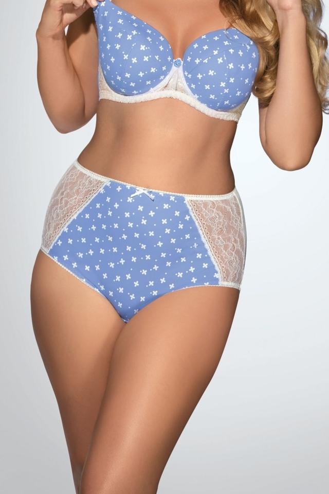 Dámské kalhotky 1418 - XL - světle modrá