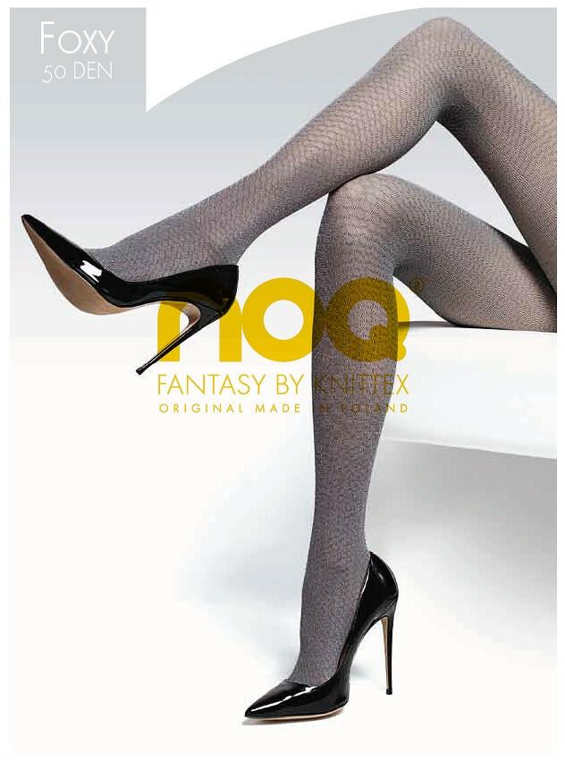 Punčochové kalhoty Knittex Noa Foxy 50 den - 3-M - tmavě šedá