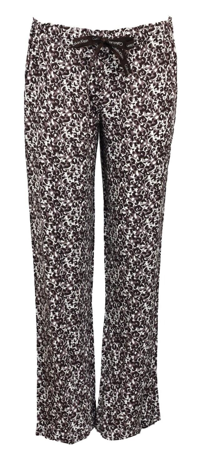 Kalhoty S1614E - Calvin Klein - L - hnědá mix