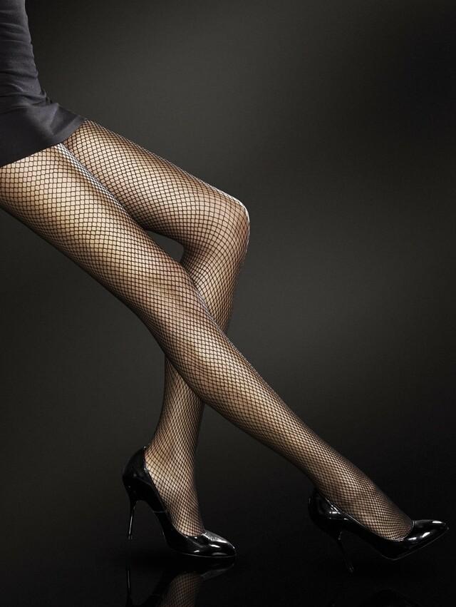 Dámské punčochové kalhoty Fiore Greta - 4-L - černá