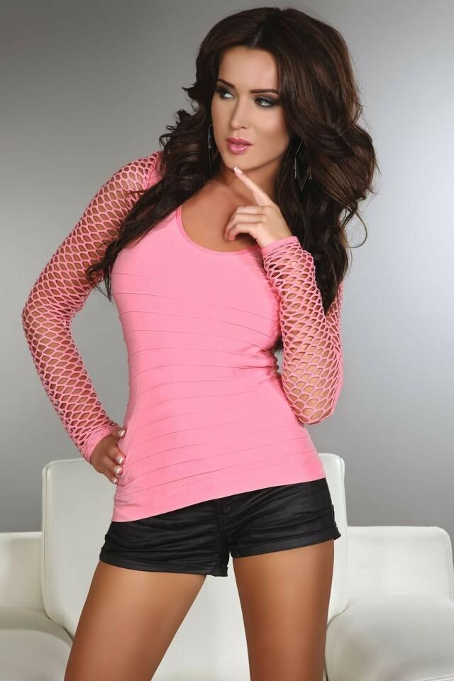 Dámské tričko Hortense pink