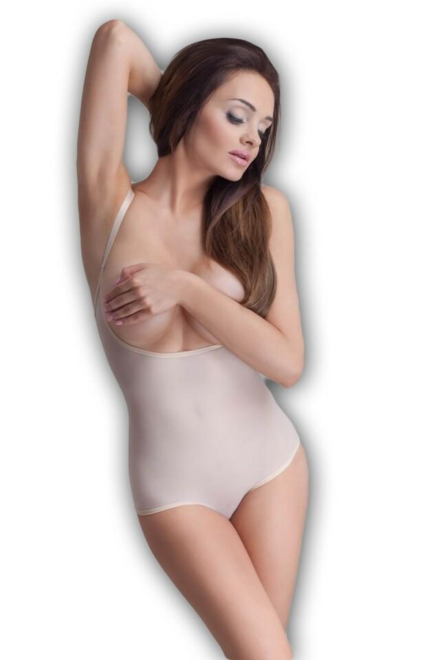 Dámské stahovací body Softly beige - S - béžová