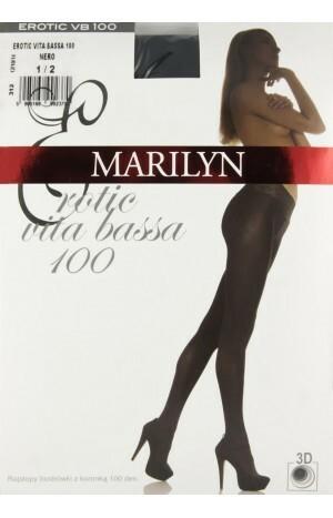 Dámské punčochové kalhoty Erotic Vita Bassa 100 - Marilyn - 1/2 - latté