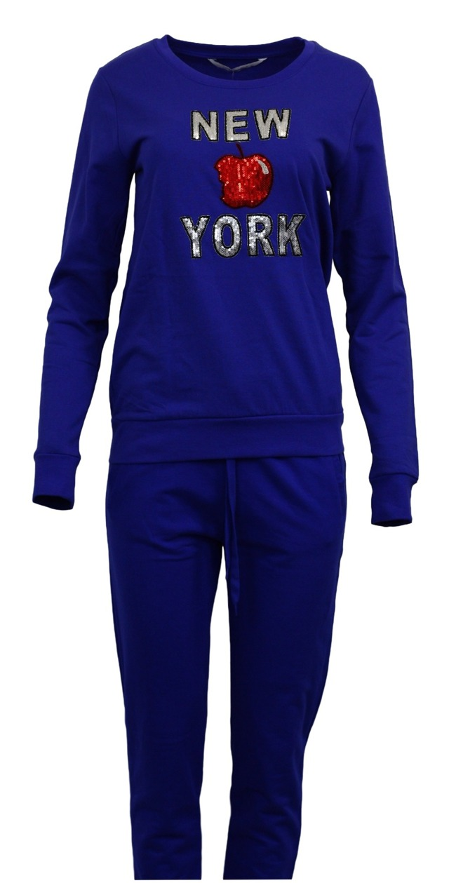 Dámská souprava - New York, Vienetta - M - modrá