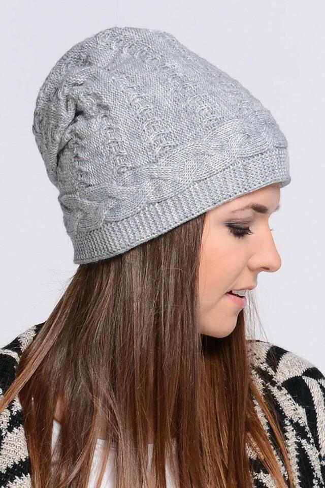 Dámská čepice Melanie - Kamea - uni - šedá