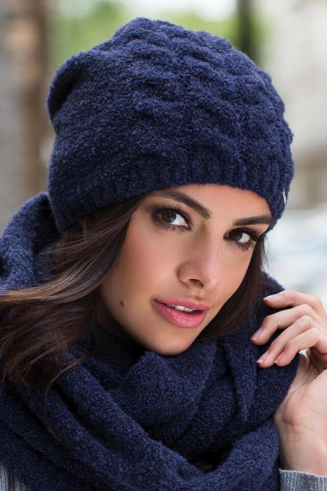 Dámská čepice Kamea Violeta - UNI - béžová