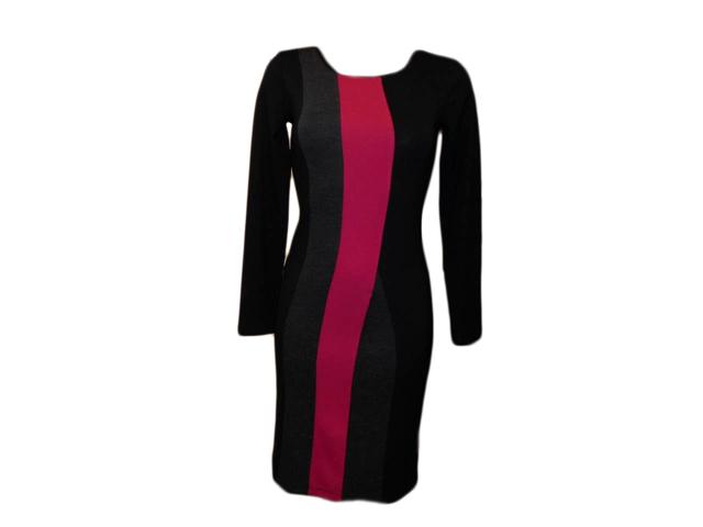 Dámské šaty Mika DR - Favab - S - černo-šedá