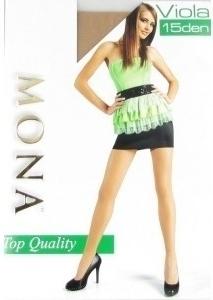 Punčochové kalhoty Mona Viola 15 den - S - černá