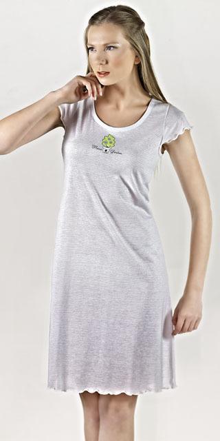 Noční košile 9301 - Vamp - M - zelená