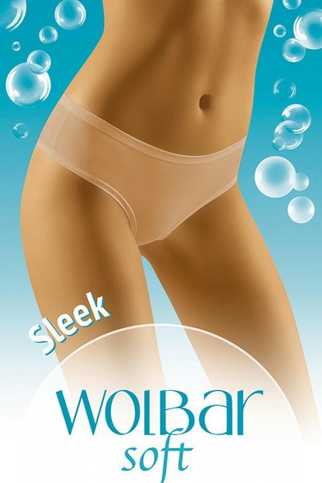 Dámské kalhotky Sleek soft beige - M - béžová