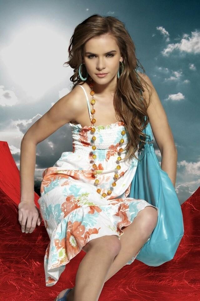 Plažové letní šaty s květy Alma - Miran - L - bílá s květinovým vzorem