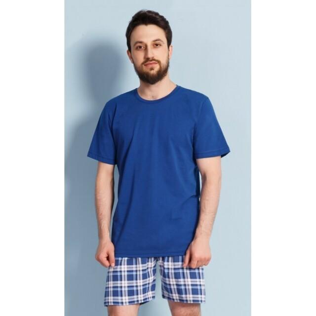 Pánské pyžamo 3176 - Gazzaz - L - modrá