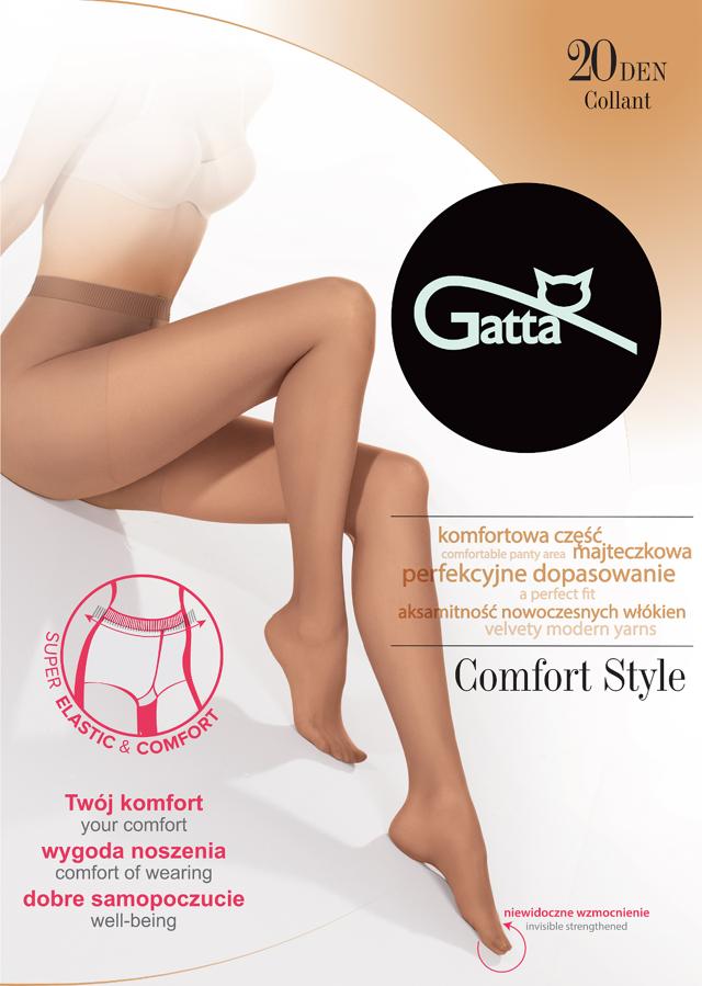 Dámské punčochové kalhoty Gatta Comfort Style 20 den 5-XL - 5-XL - Londýn / epizodašedá