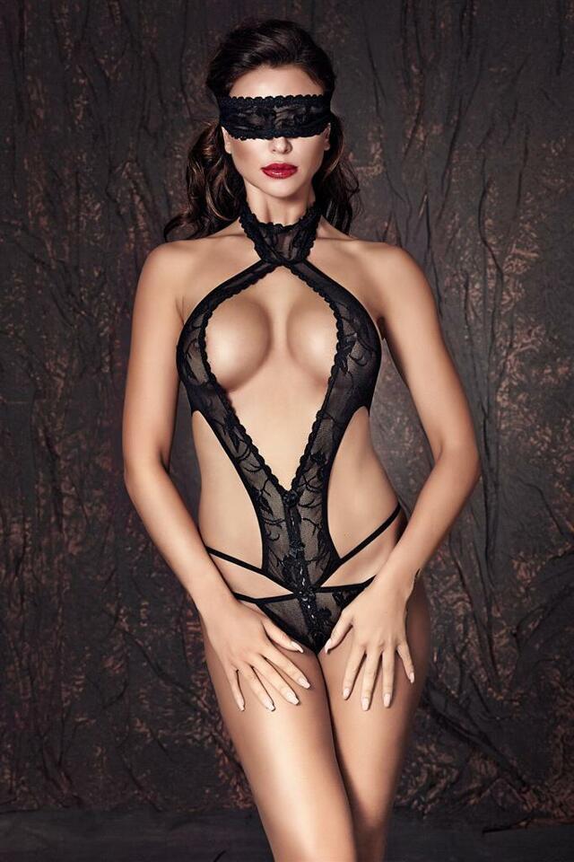 Body Alexandra - Anais - XL - černá