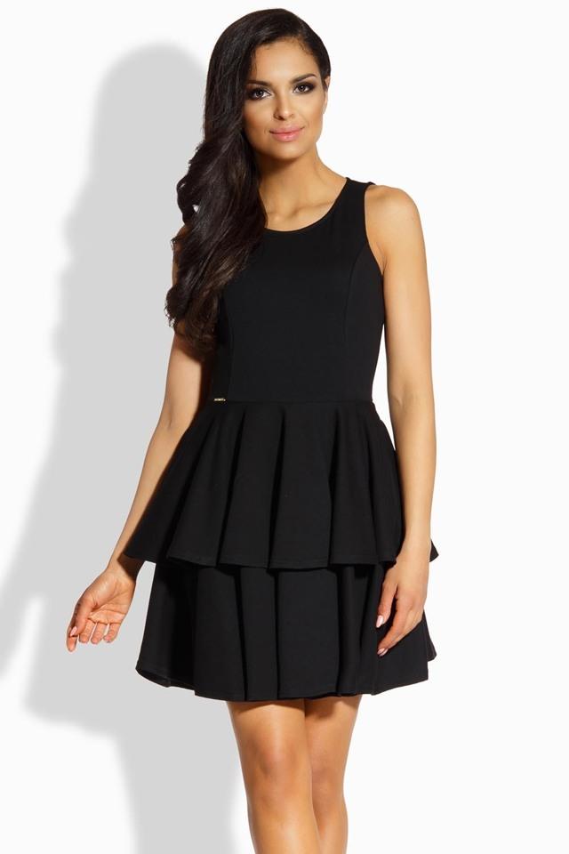 Dámské šaty Lemoniade L199 - L - černá