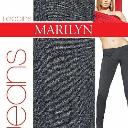 Dámské legíny Jens 967 - Marilyn - M/L - černá