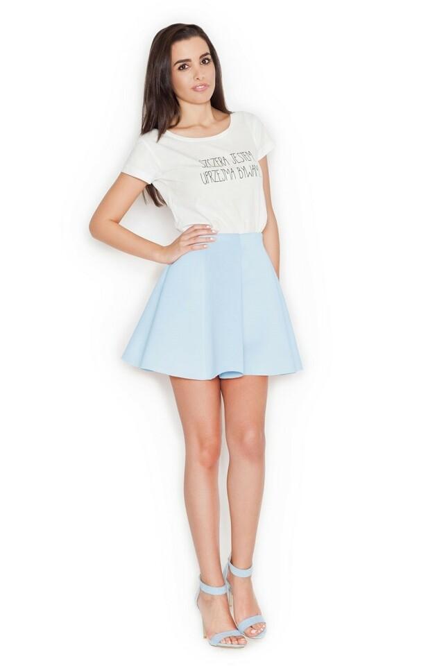 Dámská sukně K268 blue - XL - světle modrá