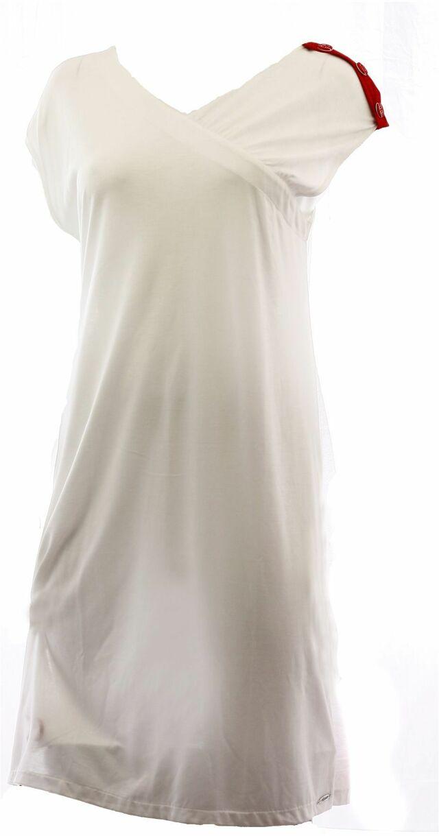 Dámské šaty 91089 - Luna - S - bílá