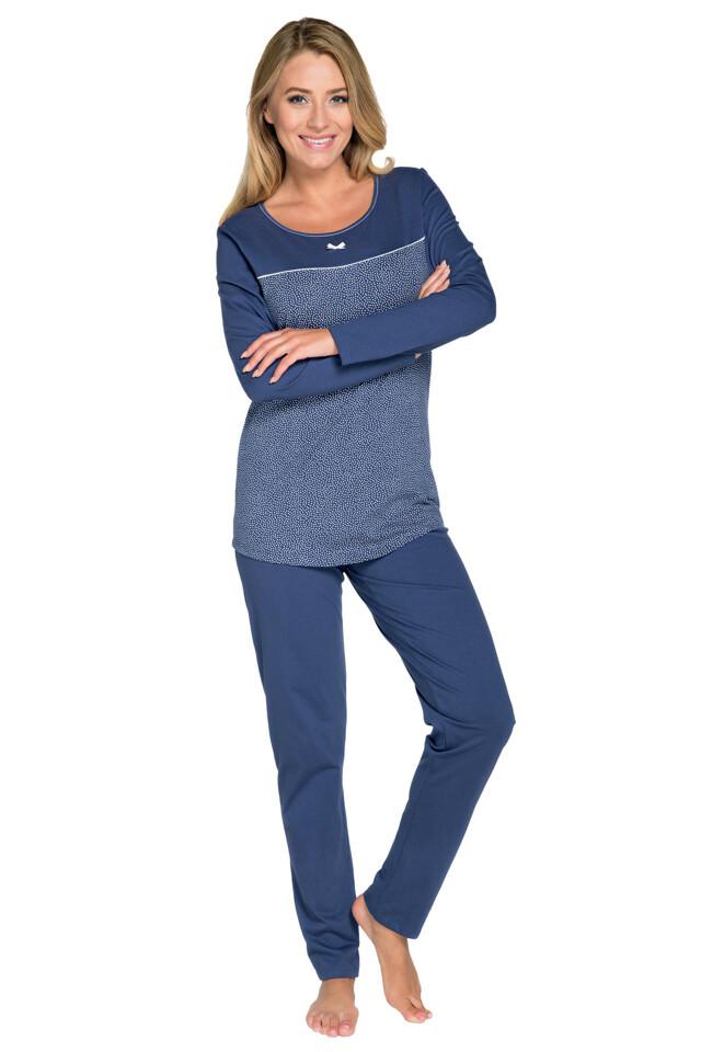 Dámské pyžamo Larysa modré - XXL