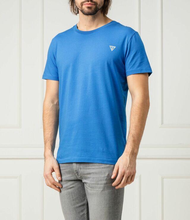 Pánské tričko U94M09JR00A-G7R4 modrá - Guess - M - modrá